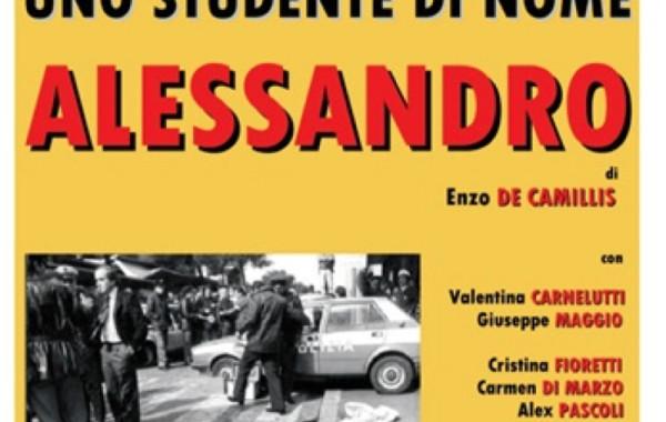 Uno studente di nome Alessandro